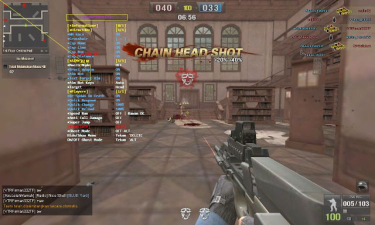 contoh cheater point blank